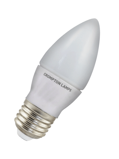 Picture of Crompton LED Candle Lamp 4W ES Daylight LCES4DL