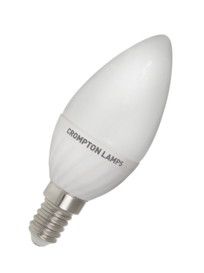 Picture of Crompton LED Candle Lamp 4 watt SES Warm White LCSES4WW