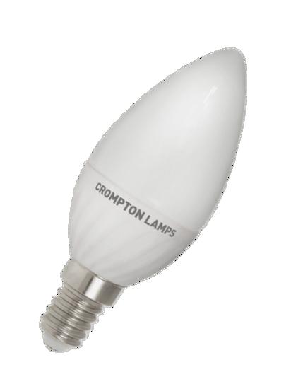 Candle shaped LED bulb SES cap