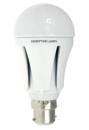 Picture of Crompton LED GLS Lamp 12W BC Opal Warm White LGBC12WW