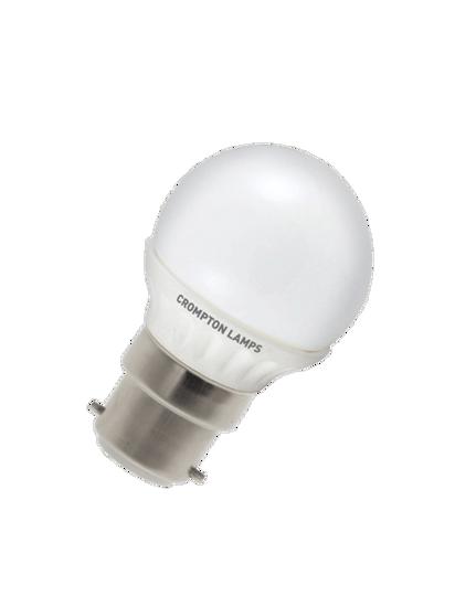 Round plastic white golf shaped bulb