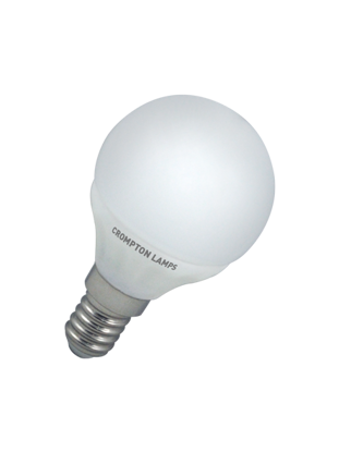 Picture of Crompton LED Round Lamp 4 watt SES Opal Warm White LRSES4WW