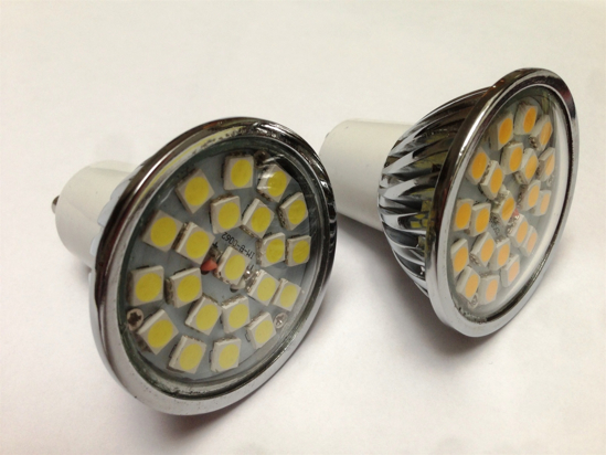 Picture of LED GU10 4.5W Dimmable Lamp Cool White