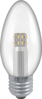 Picture of Manor Range LED Candle 3W Clear in SES & SBC
