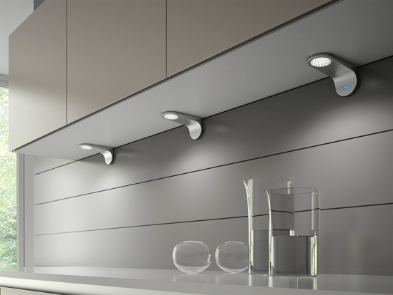 Picture of Teramo LED Cabinet Light Fitting with Sensor SY7335