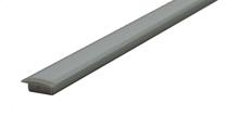 Recessed diffused aluminium profile
