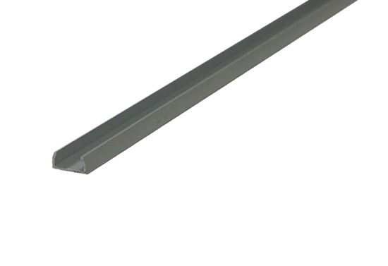 Surface profile to keep LED strip tidy