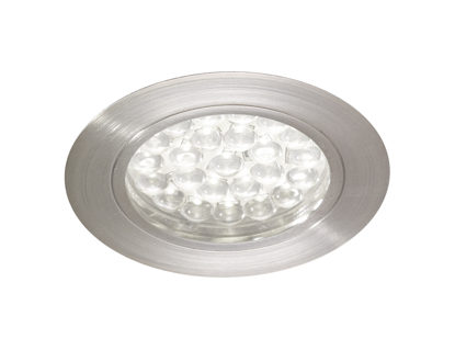 Picture of Rimini Chrome LED Recessed Cabinet Light Cool White SY7180CC/CW