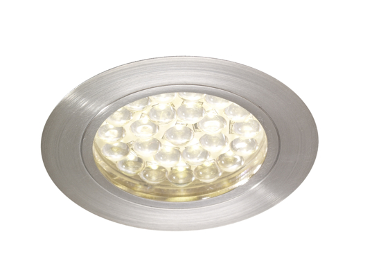 Picture of Rimini Chrome LED Recessed Cabinet Light Warm White SY7180CC/WW