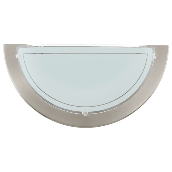 Picture of Planet 1 Wall Light in Satin Nickel by Eglo 83163