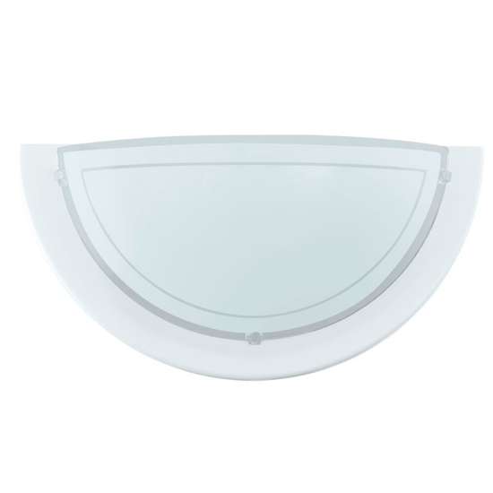 Picture of Planet 1 Wall Light in White by Eglo 83154