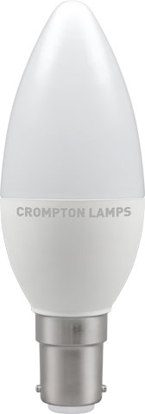 Picture of Crompton LED Candle 5.5W SBC Warm White 11304