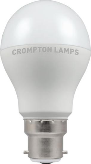 Classic GLS shaped LED bulb bayonet cap