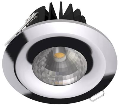 Picture of Chrome, Satin Chrome & Brass Bezels for LED 8W Downlight