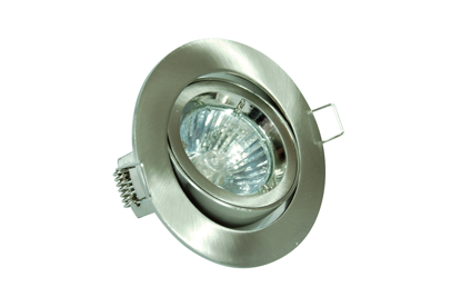 Picture of GU10 Tilt Downlight in Satin Chrome DGGS