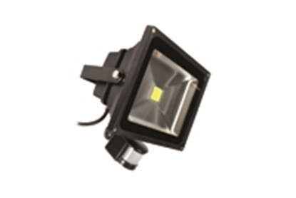 Picture of 30W PIR LED Floodlight 3100K LEDFLE30BPIR-31