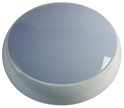 Picture of 20w LED Emergency Polo Bulkhead in White 3500K POL20LEDE