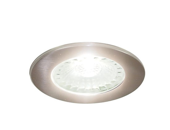 Picture of Polaris LED Recessed Cabinet Light in Brushed Nickel SY7550ABN/NW