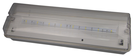 Picture of LED Emergency Bulkhead with Legend LFACLED-2