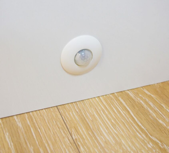 Picture of PIR Motion Sensor with Adjustable Timer and Adjustable Lux levels SY7262A