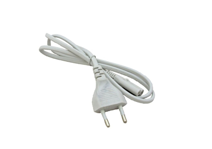 1 metre mains cable with a euro plug attached