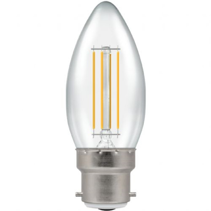 Picture of LED Filament Lamp Candle 5W BC 4436