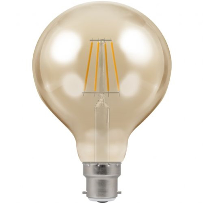 Picture of LED Filament Lamp G95 Dimmable 5W BC 4283