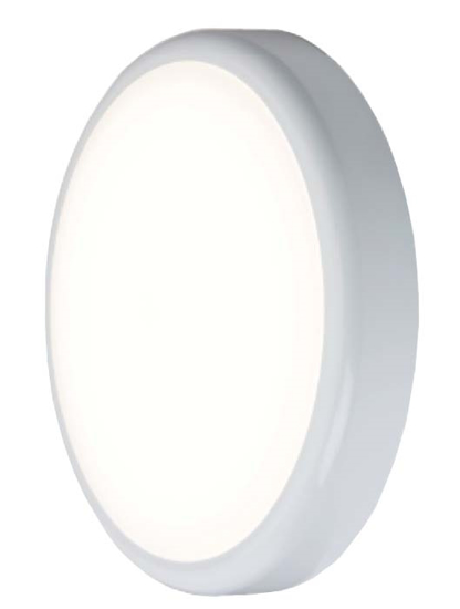Picture of LED Polo Slimline 14W Bulkhead in White POL14LED