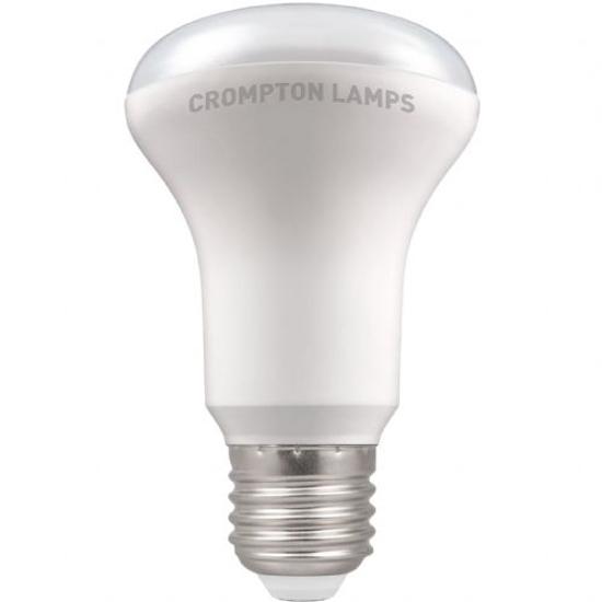 White plastic reflector bulb with screw cap