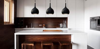 Picture of Parma Black COB LED Pendant Light SY7809BL