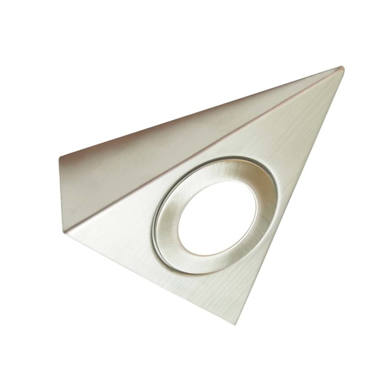 Triangular body with LED light