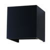 Picture of LED Square Up/Down Wall Light in Black V-TAC 7087