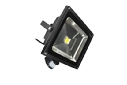 Picture of 50w PIR LED Floodlight 6500K LEDFLE50BPIR