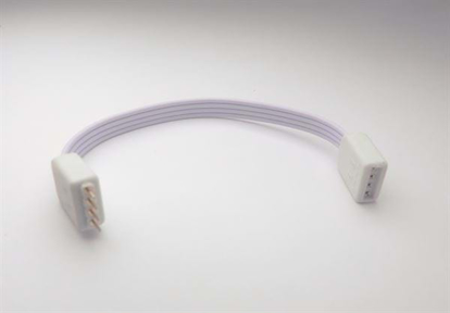 4 pin cable for connecting strips around a corner