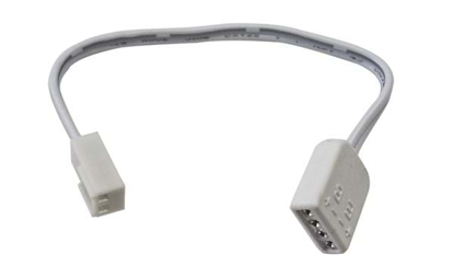 Distribution cable to connect 4 pin LED strips