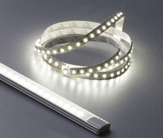 1 metre length of soft warm white LED strip