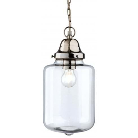 Picture of Firstlight Craft Glass & Chrome Pendant 2348CH