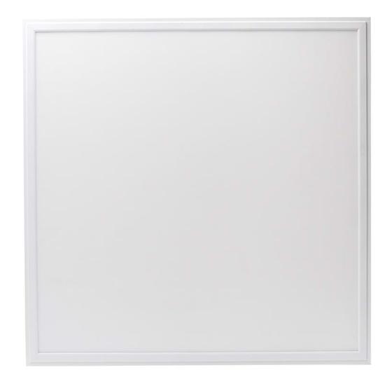 Square white recessed LED panel