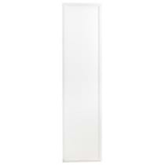 White recessed LED panel