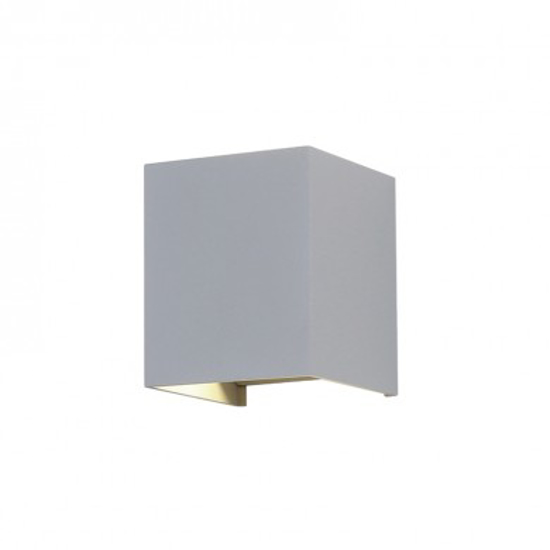 Picture of LED Square Up/Down Wall Light in Grey V-TAC 7089