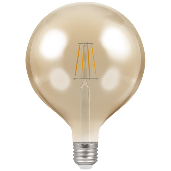 Picture of LED Filament Lamp G125 Dimmable 7.5W ES 4313