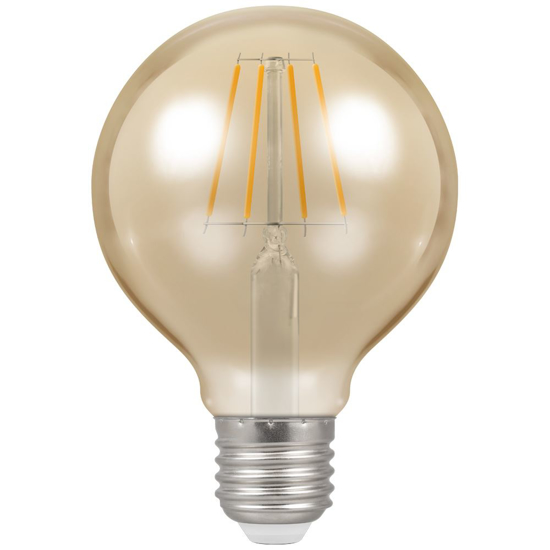 Picture of LED Filament Lamp G80 Dimmable 5W ES 4276
