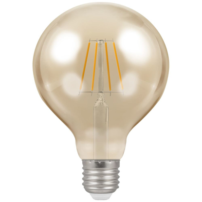 Picture of LED Filament Lamp G95 Dimmable 5W ES 4290