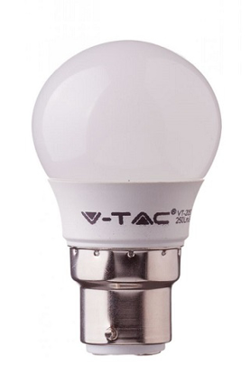 Picture of LED Round 6W BC Warm White 2700K V-TAC 4441