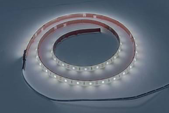 Reel of flexible bright LED strip