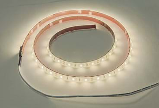 Reel of flexible bright warm white LED strip