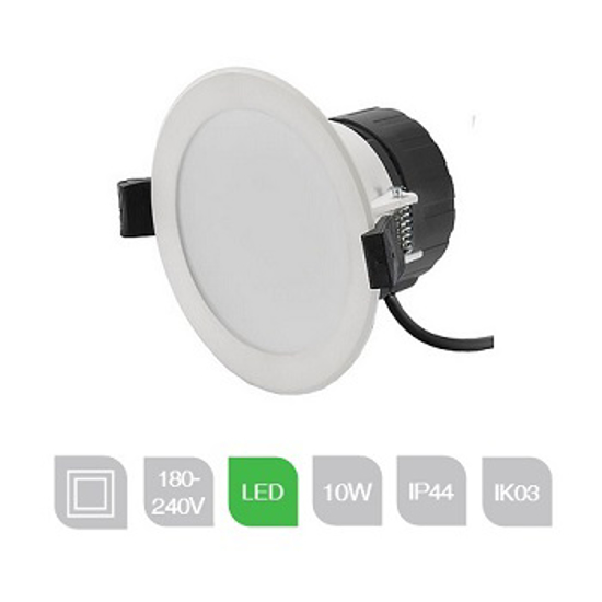 Dimmable 10 watt LED Downlight