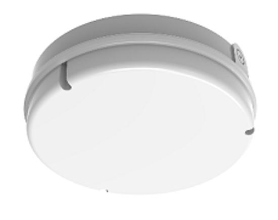Circular white bulkhead