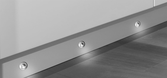 Picture of Sirius Eyelid Individual LED Plinth Light SY7305