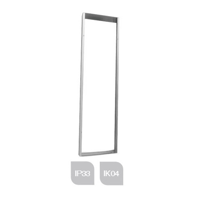 White surface mounted kit for LED panels